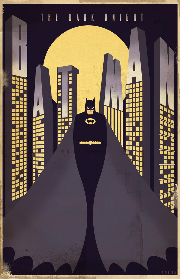 Art Deco Batman
