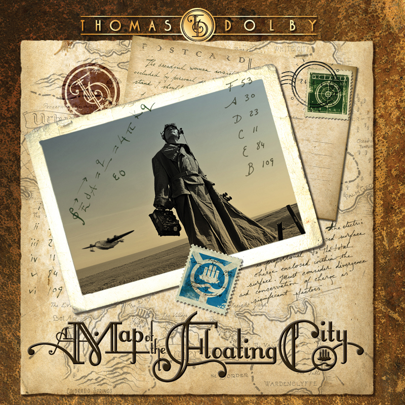 Thomas Dolby A MAP OF THE FLOATING CITY (Standard Edition)
