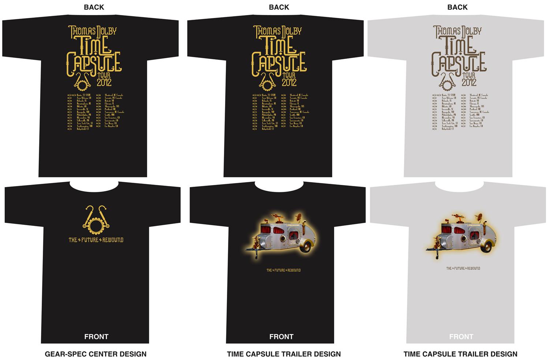 Time Capsule Tour T-Shirts