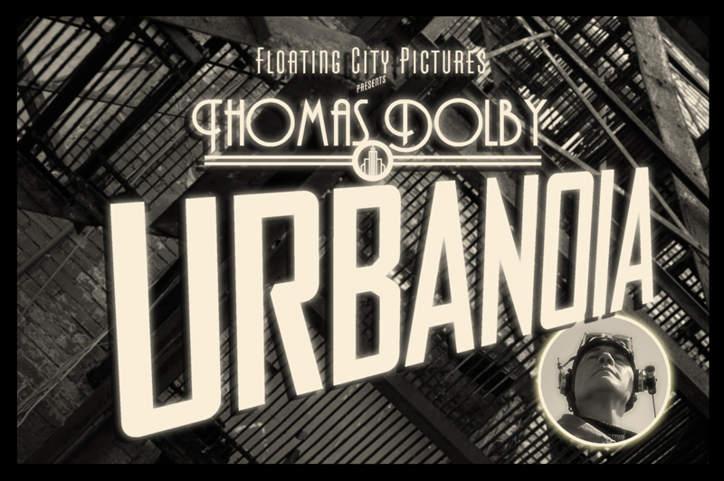 Thomas Dolby promotional title card