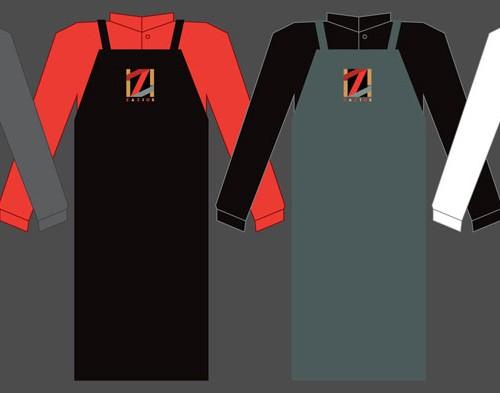 Zazios Proposed Staff Apron Designs