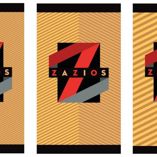 Zazios Logo and Patten options