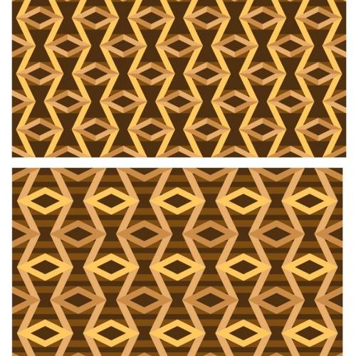 Zazios Proposed Logo Fabric Pattern Gold