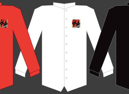 Zazios Proposed Waitstaff Shirts