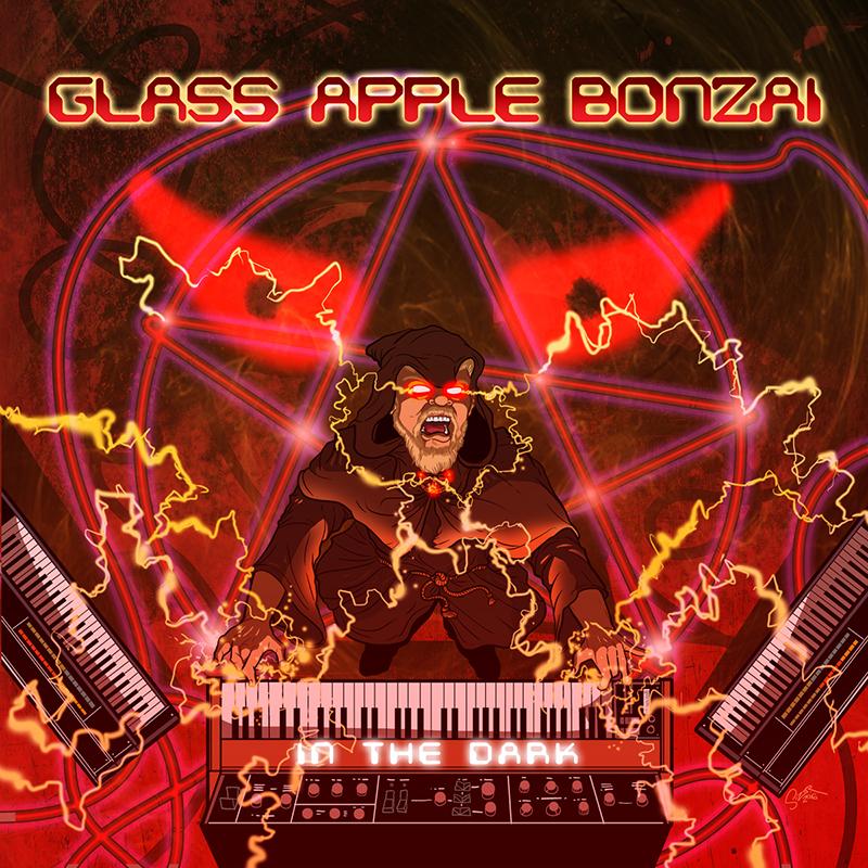 Glass Apple Bonzai IN THE DARK CD